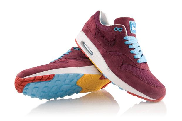 Patta x Parra x Nike Air Max 1 Cherrywood Rouge